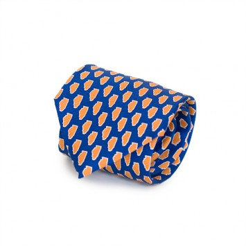 Navy IL Gameday Tie